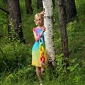 Платье Радуга